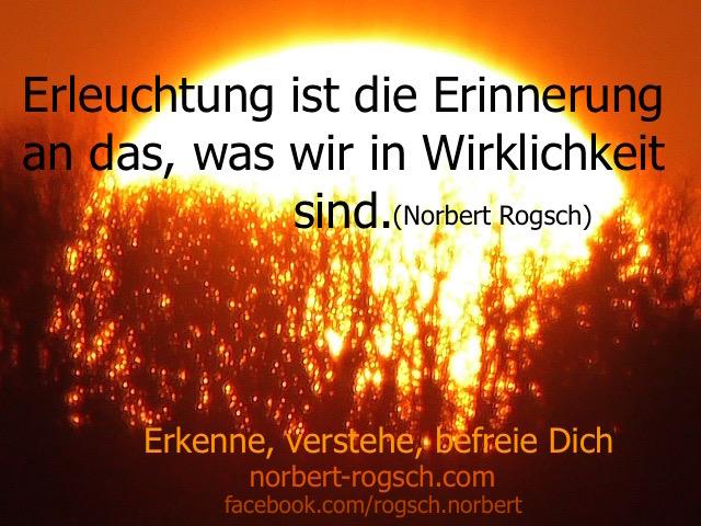 Erleuchtung - Norbert Rogsch